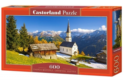 Puzzle Church Marterle, Carinthia, Austria 600 (B-060153)