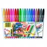 Pisaki Colour Blast, 18 kolorów