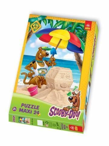 Scooby-Doo na plaży - Puzzle Maxi - 24 elementy (14115)
