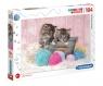 Puzzle SuperColor 104: Sweet Kittens (27115)Wiek: 6+