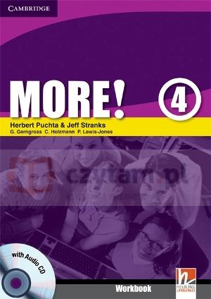 More! 4 WB w/CD - książka