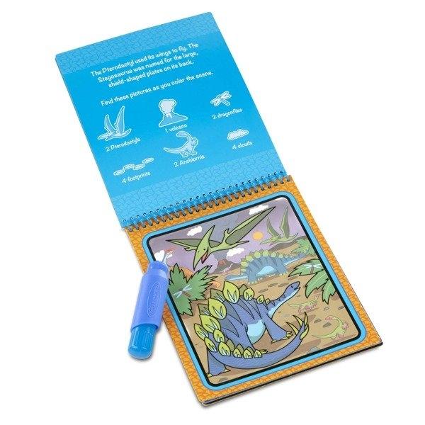 Kolorowanka wodna Water Wow! - Dinozaury (MD19315)