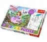 Puzzle 20 elementów Color Sofia wśród drzew (36515)