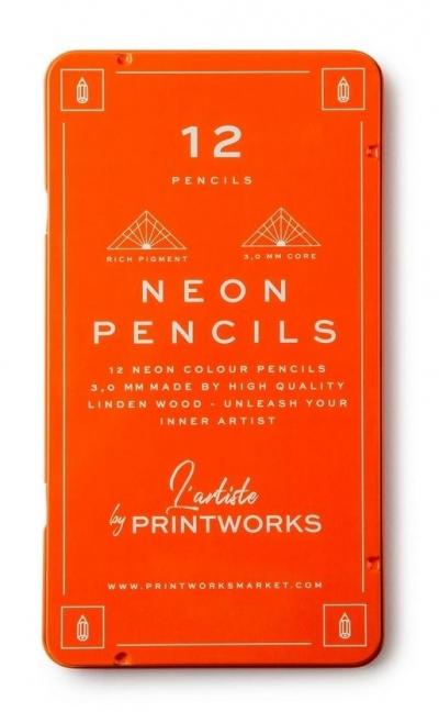 Kredki 12 kolorów Neon
