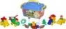 Klocki plastikowe Polesie BUDOWNICZY 128 elementów (56153)