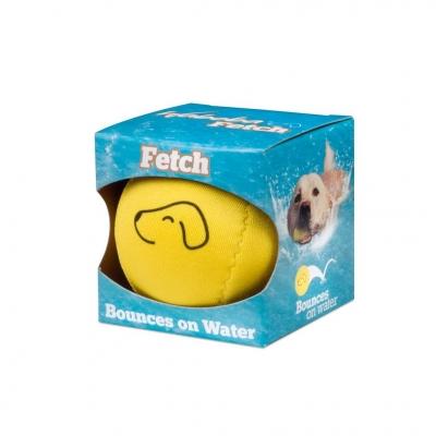 Piłka Dog odbijająca się od wody