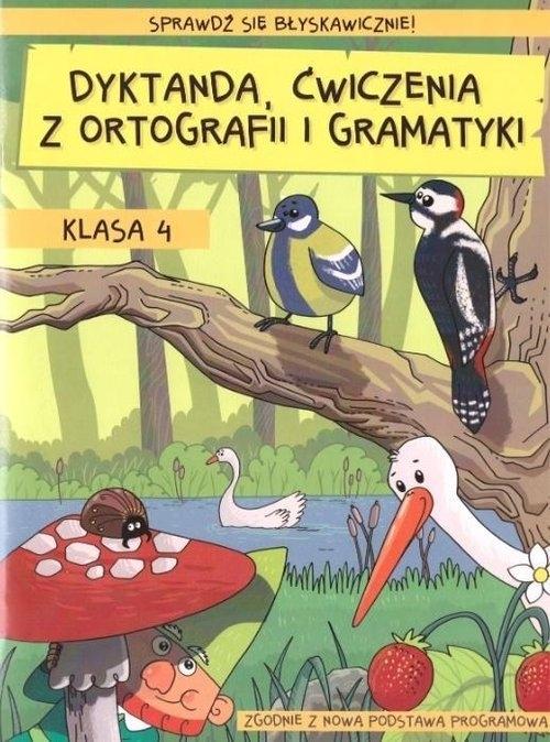 Dyktanda ćwiczenia z ortografii i gramatyki Klasa 4 Zaręba Wiesława
