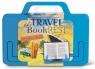 Travel BookRest - niebieski uchwyt do książki/tablet