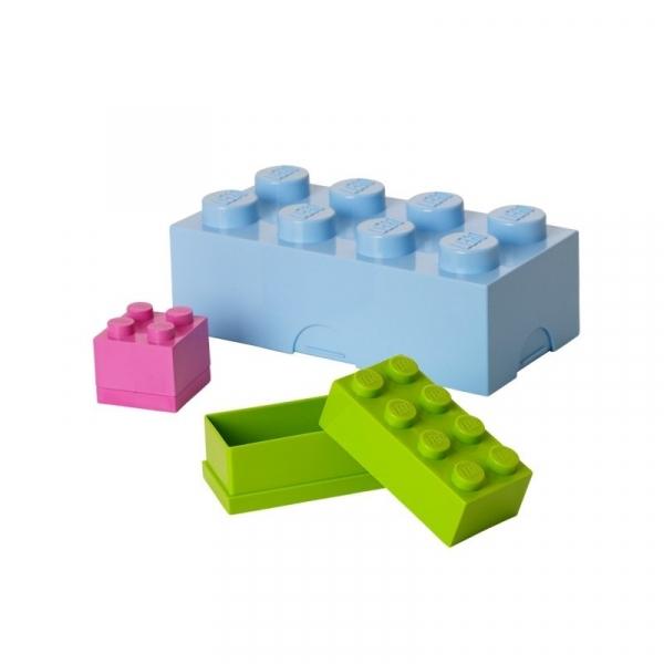 LEGO, minipudełko klocek 4 - Białe (40111735)