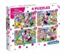 Puzzle 2x20 + 2x60: Minnie Happy Helpers (07615) Wiek: 3+