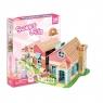 Puzzle 3D: Domek dla lalek Sweet Villa (306-20615)