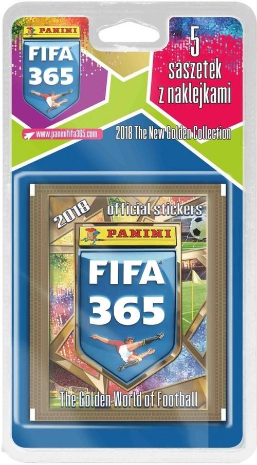 Panini Fifa 365 2018 Blister z naklejkami 25 sztuk
