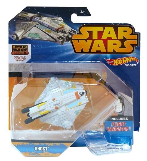 Hot Wheels Star Wars Statek kosmiczny Ghost