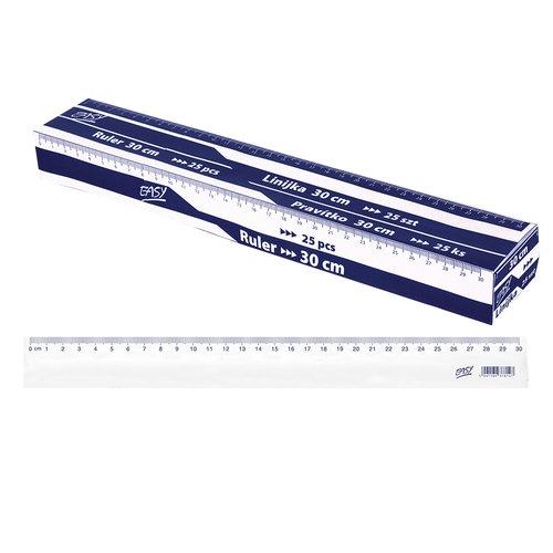 Linijka 30cm 25 sztuk