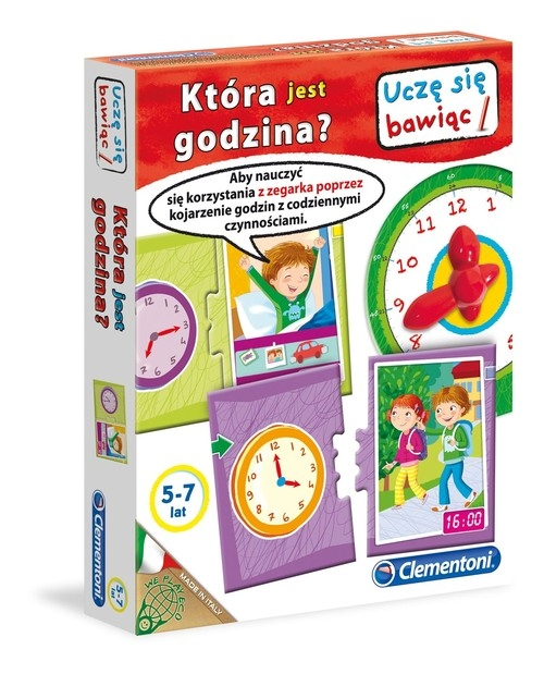 Uczę się bawiąc Która jest godzina? 5-7 lat (60915)