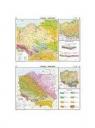 Mapa - Polska. Geologia - tektonika NE
