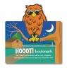 Zwierzęca zakładka do książki - Hoot! - Sowa