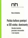 Polska kultura pamięci w XXI wieku dominanty