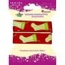 Wstążka dekoracyjna świąteczna, skarpety (363076)