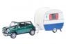 SCHUCO Mini Cooper with Caravan (450241500)