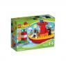 Lego Duplo: Łódź strażacka (10591)