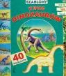 Szablony W epoce dinozaurów z 40 szablonami