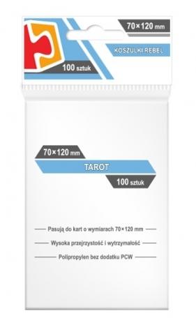 Koszulki na karty Rebel (70x120 mm) Tarot, 100 sztuk