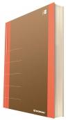 Notatnik Donau Life Organizer 80 kartek Neon pomarańczowy (1370001FSC-12)
