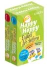 Happy Hoppy Fiszki dla dzieci pakiet angielski (Cechy i relacje + Kolory i