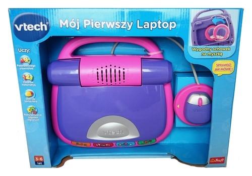 V-tech Mój pierwszy laptop - fioletowy (60315)