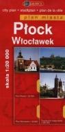 Płock Włocławek Plan miasta 1:20 000
