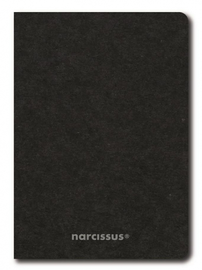 Zeszyt A5/56K kratka Eco Black (6szt) NARCISSUS