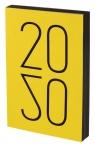 ART Kalendarz A5 żółty 2020 -