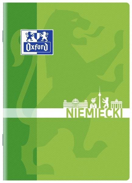 Zeszyt Oxford A5/60k, kratka - Język niemiecki (400139057)