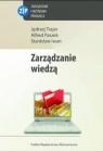 Zarządzanie wiedzą Trajer Jędrzej, Paszek Alfred, Iwan Stanisław