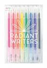 Długopisy żelowe z brokatem Radiant Writers