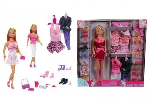 Steffi Lalka Duży zestaw z ubrankami  (105736015)