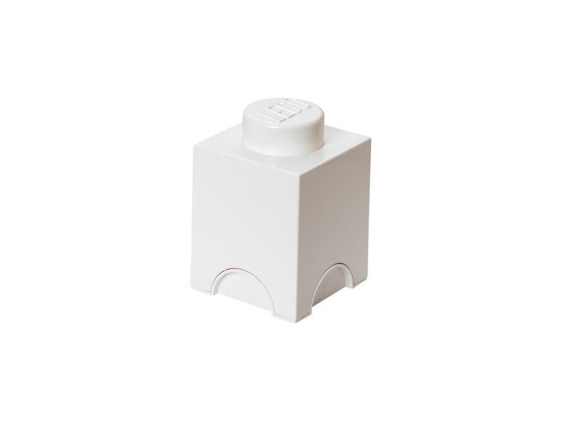 Pojemnik klocek LEGO® Brick 1 (Biały) (40011735)