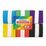 Bibuła marszczona kostka mix kolorów - 6 szt. (239758)