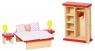 Sypialnia do domku dla lalek (GOKI-51715)