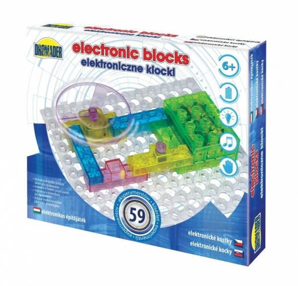 Elektroniczne klocki 59 elementów