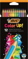 Kredki Color UP 12 kolorów BIC