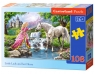 Puzzle Little Lady and her Horse 108 (010158)