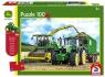 Puzzle 100 John Deere Traktor 6195M + zabawka G3