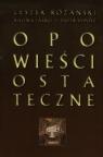 Opowieści ostateczne + CD Różański Leszek, Jaśko Kalina, Syposz Piotr