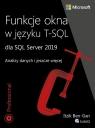 Funkcje okna w języku T-SQL dla SQL Server 2019.