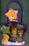 Laleczka Pinypon Torebka z figurką i zwierzątkiem kot