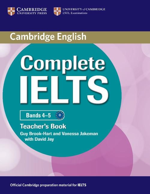 Complete IELTS Bands 4-5 Teacher's Book Brook-Hart Guy, Jakeman Vanessa