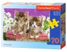 Puzzle Kittens in a Basket 70 (007158)