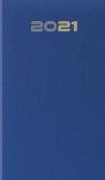 Kalendarz 2021 Tygodniowy niebieski